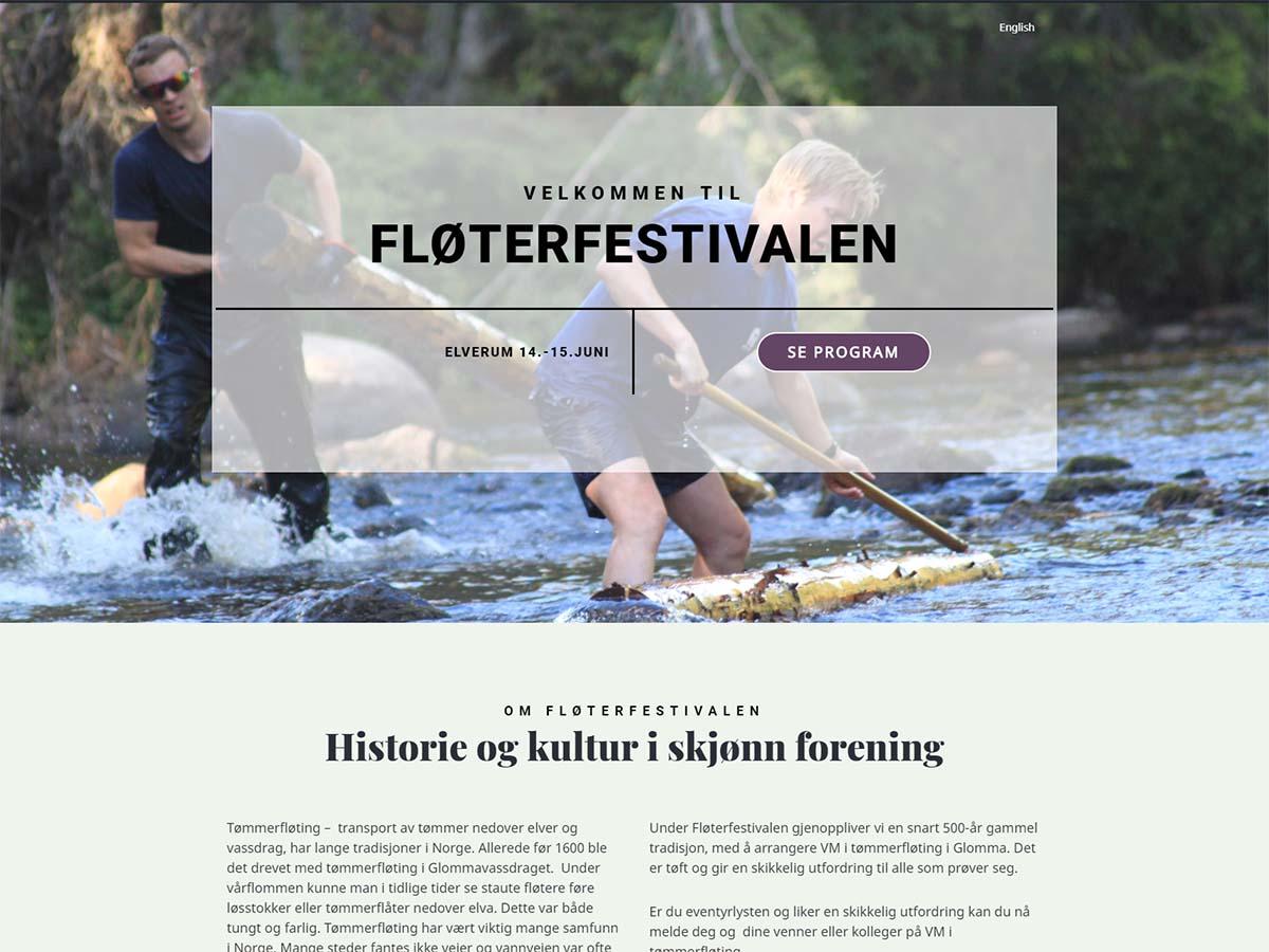 Nye nettsider til Fløterfestivalen